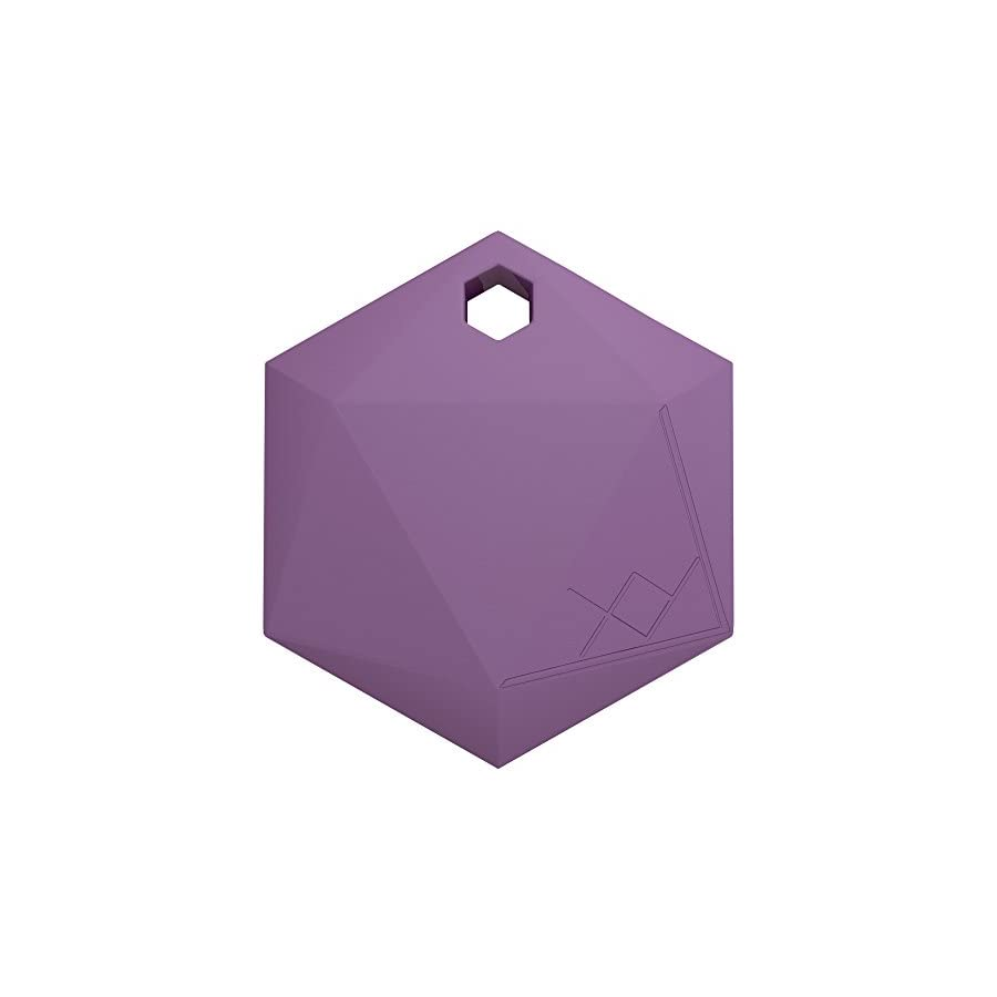 XY3.1 Item Finder by XY Findables | Anti Theft Alarm Item Locator | Find Your Lost Key, Wallet, Phone, Etc | Low Energy 4.0 Bluetooth Tracker | Sleek Hexagon Design | QTY 1