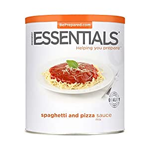 Emergency Essentials Food Spaghetti & Pizza Sauce Mix, 56 oz