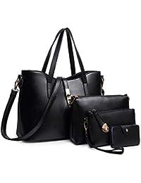Women Fashion Synthetic Leather Handbags+Shoulder...