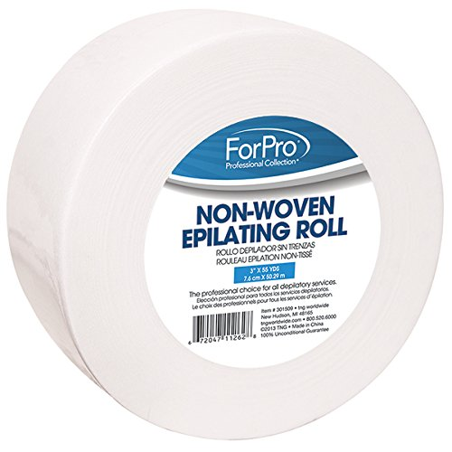 For Pro Non-Woven Epilating Roll, 3 Inch x 55 Yard