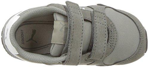 PUMA Baby ST Runner NL Velcro Kids Sneaker, Rock Ridge White, 7 M US Toddler by PUMA (Image #8)