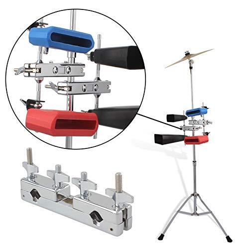 FidgetFidget Percussion Instrument Holder for Hi-Hat Drum Cow Bell Accs Stand ()