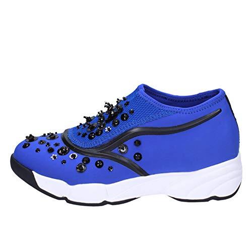 Slip Uma Mujer Azul Parker On Textil 85awfvq