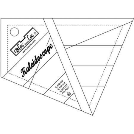 Bloc Loc~Kaleidoscope 6 Ruler, Acrylic Ruler by Bloc Loc