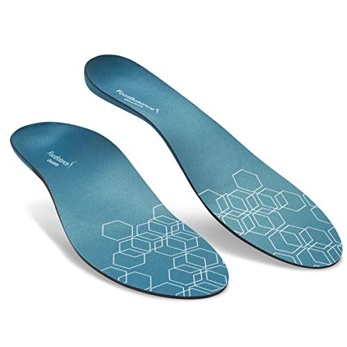 FootBalance QuickFit Balance Insole | Men's & Women's Orthotic Inserts | Custom Heat Moldable for Sports Shoes and Arch Support (41-42)