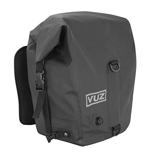 VUZ Moto Dry Saddlebags 2pcs | 100% Waterproof Motorcycle Luggage Dual Sport Motorcycle Luggage