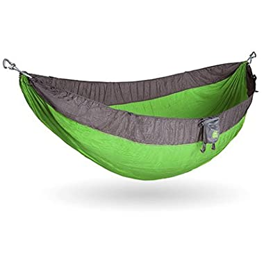 Kammok Roo Camping Hammock (Zilker Green) - The World's Best Camping Hammock