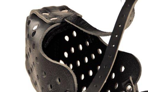 Dean & Tyler Ronin Leather Muzzle, German Shepherd by Dean & Tyler (Image #1)