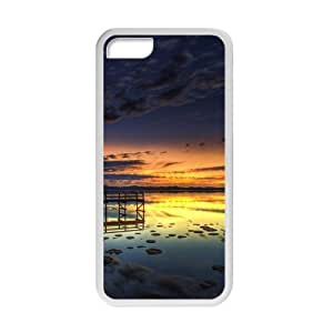 Welcome!Iphone 5C Cases-Brand New Design Beautiful Sea Dock Scenery Printed High Quality TPU For Iphone 5C 4 Inch -01