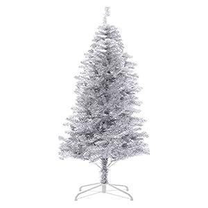 HB-101 6' FT 700tips Sparking Gorgous Tinsel Chrismas Tree Silver 101