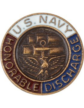 LAPEL-011, Navy Honorable Discharge Lapel