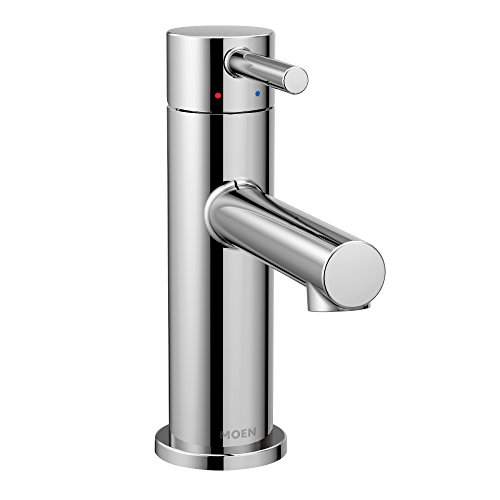 Moen 6190 Align One-Handle High-Arc Bathroom Faucet with Drain Assembly, -