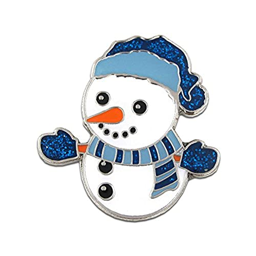 hot PinMart's Christmas Snowman Holiday Brooch Lapel Pin supplies