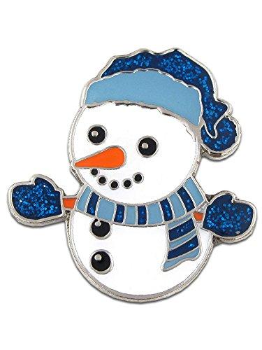 Snowman Holiday Lapel Pin