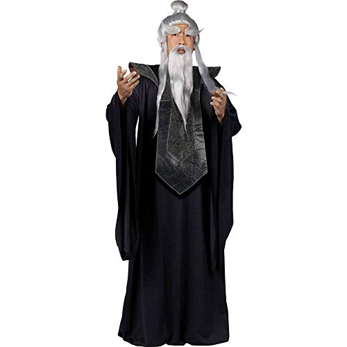 Fun World Men's Sensei Master Costume Black, -
