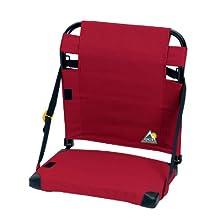 GCI Outdoor Bleacher Back Stadium Seat, Red