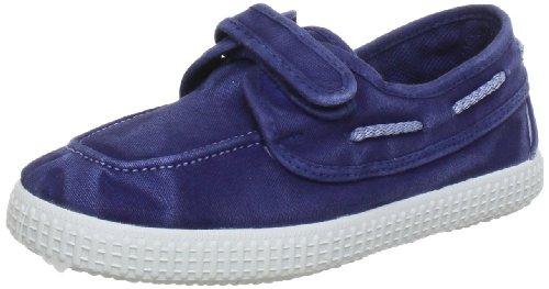 Bisgaard Schuh mit Klettverschluss 88313 Unisex-Kinder Schnürhalbschuhe Blau (mariono 1D)