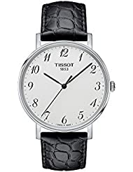 Tissot T-Classic Everytime Leather Mens Watch T1094101603200
