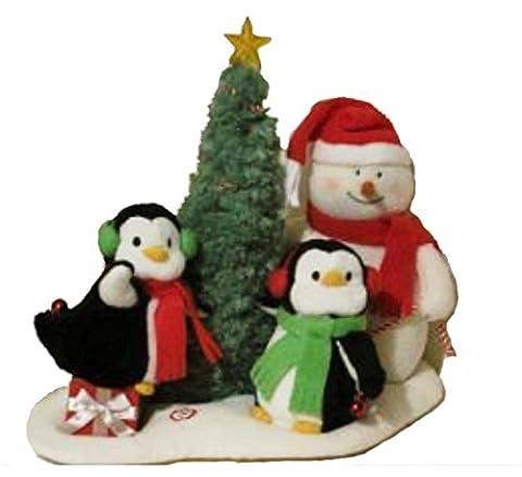 Hallmark Very Merry Trio Snowman and Penguins 2006 Jingle Pals (Hallmark Musical Snowman)