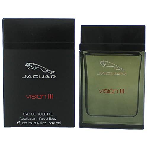 Amazon.com : Jaguar Vision III Eau De Toilette Spray for Men, 3.4