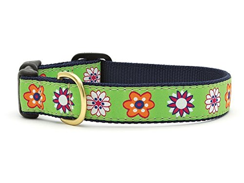 - Up Country Bloom Dog Collar (X-Large 18 - 24