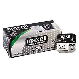 Wolfpack 19040830 Pila Boton Oxido De Plata 371 / SR920SW (Caja 10 Pilas) 41mZ 2BDpdwGL