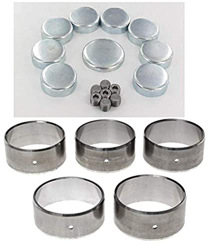 Steel or Brass freeze plugs and Clevite77 cam bearings to prep your 1966-90 BIG Block Chevy 366 396 402 454 Block (Brass Plugs Kit) Clevite 77 Elgin Industries