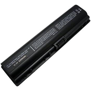 Maximal Power LB HP V3000 Replacement Battery for HP Compaq Presario V3000, V6000 Series, DV2000, DV2084EA, DV2130US, DV2500, DV6000, DV6100, DV6174, DV6200, and DV6500 Series (Black)