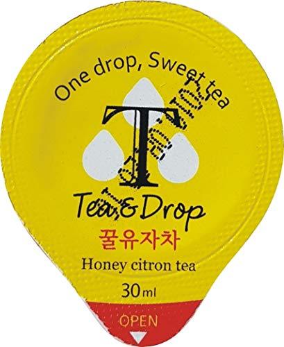 Tea & Drop Yuzu Citron & Honey Tea Concentrate, 1oz, 15 pieces (pack of 1) ()