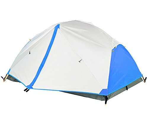 Survivalist Ultralight 2-Person Backpacking Tent for 3-Season Car camping or Bikepacking