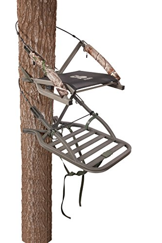 Summit Treestands Sentry SD Open Front Climbing Stand (Guide Gear Extreme Deluxe Hunting Climber Tree Stand)