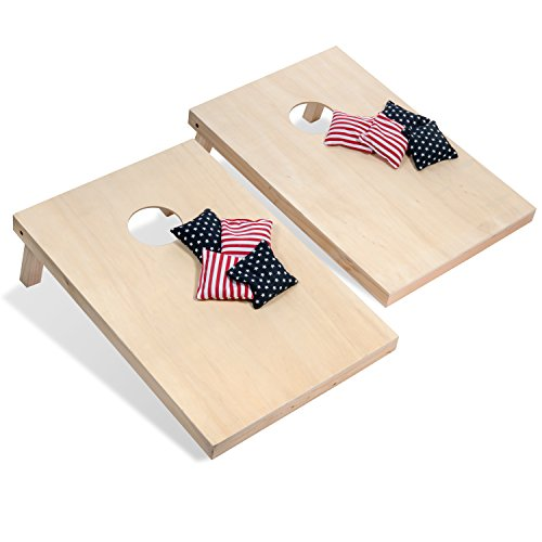Tailgating Pros Cornhole Boards - 4'x2' & 3'x2' Cornhole Game w/Carrying Case & Set of 8 Corn Hole Bags - 150+ Color Combos! Optional LED Lights by Tailgating Pros (Image #6)