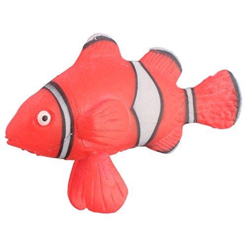 Amazon.com: eDealMax hogar acuario pecera ventosa Colectivo falso Tropical Ley de la Calle: Pet Supplies