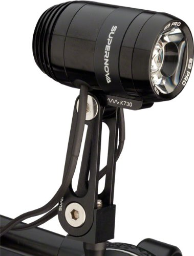 Supernova E3 Pro 2 dynamo bike lights black