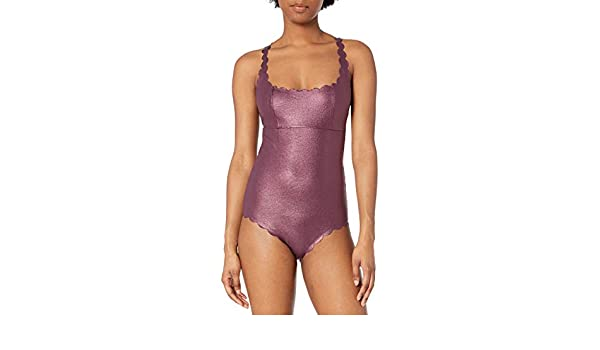 PilyQ Womens Reversible Seamless Wave Gwen One Piece Swimsuit