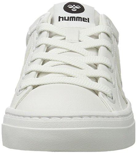 Hummel Deuce Court Tonal Unisex-Erwachsene Low-Top Weiß (White)