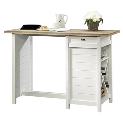 Bowery Hill Work Table in Soft White by Bowery Hill