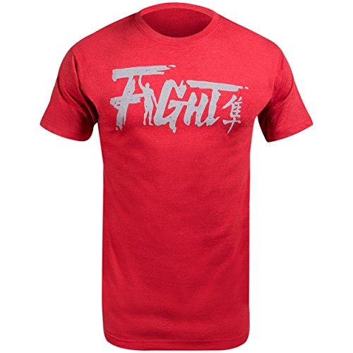 Hayabusa Fight T-Shirt, Red, Large (Hayabusa T Shirt)