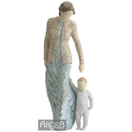 More Than Words Arora Design Sentimental Angel Figurine, First Steps