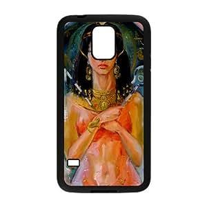 Egypt Cleopatra,Pyramid,Maya Fashion Design Cover Skin for Samsung Galaxy S5