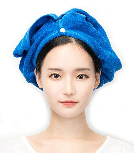 (Perfect Wrap Hair Towel (Blue))