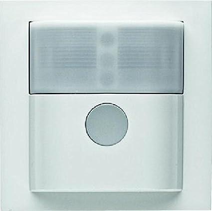 Berker 85341189 Blanco detector de movimiento - Sensor de movimiento (1,1 m,