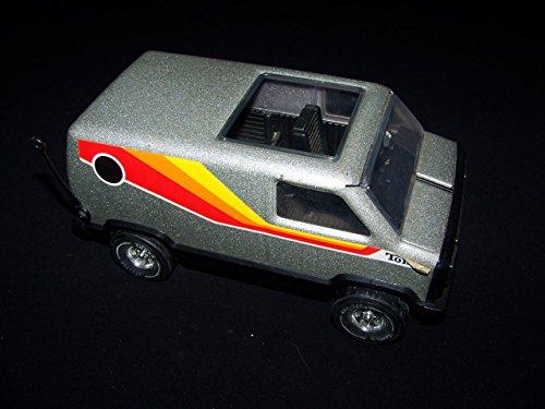 Tonka Vintage 1970s Silver Metal Van (Van Tonka)