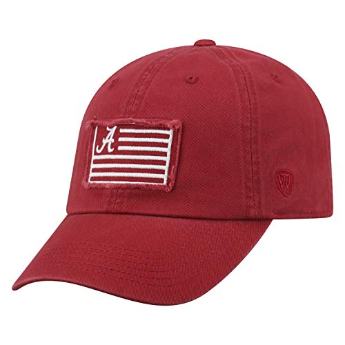 Tow Flag 4 NCAA Alabama Crimson Tide Adjustable Team Color ()
