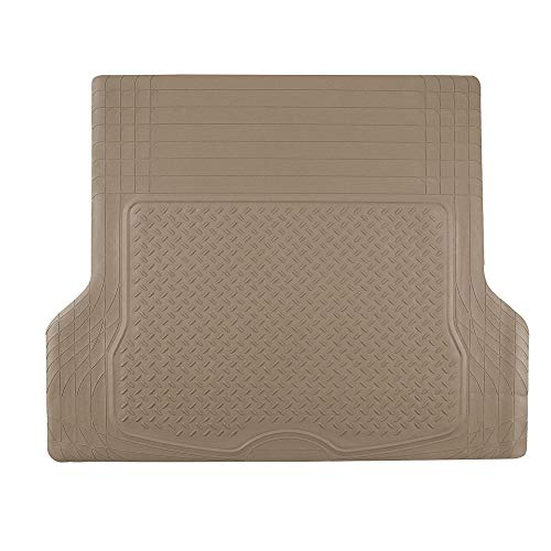 Vibe Deluxe Carpet - FH Group F16402TAN Cargo Mat (Deluxe Trim to Fit All Weather Tan)
