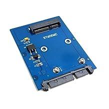 "Slim Mini PCI-E mSATA SSD to 2.5"" SATA 3.0 22pin HDD Adapter Hard Disk PCBA"