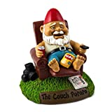 BigMouth Couch Potato Garden Gnome Toy
