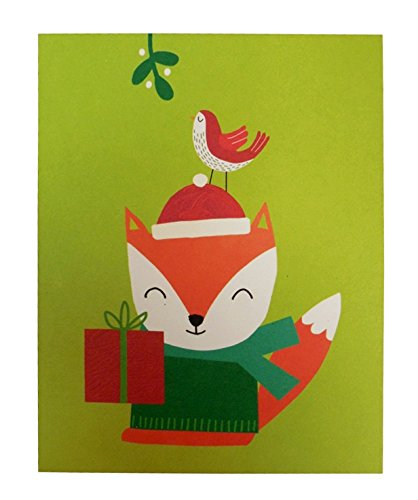 The Gift Wrap Company Recycled Boxed Holiday Cards, Chalky Flakes