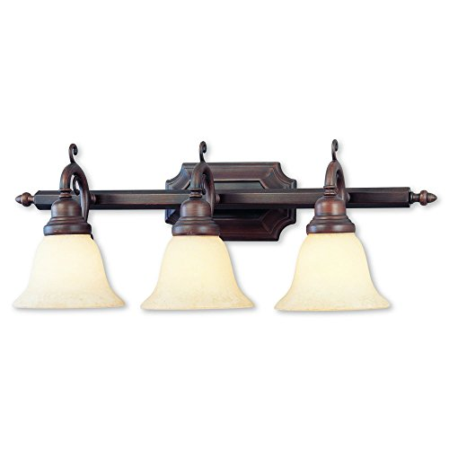 Livex Lighting 1193-58 French Regency 3-Light Bath Light, Imperial (Regency 3 Light Vanity)