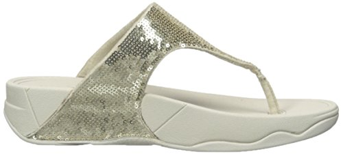 bc9c02550fbd10 FitFlop Electra Classic Sequin Flip-Flop Sandal Pale Gold IMEClXl release  info ...